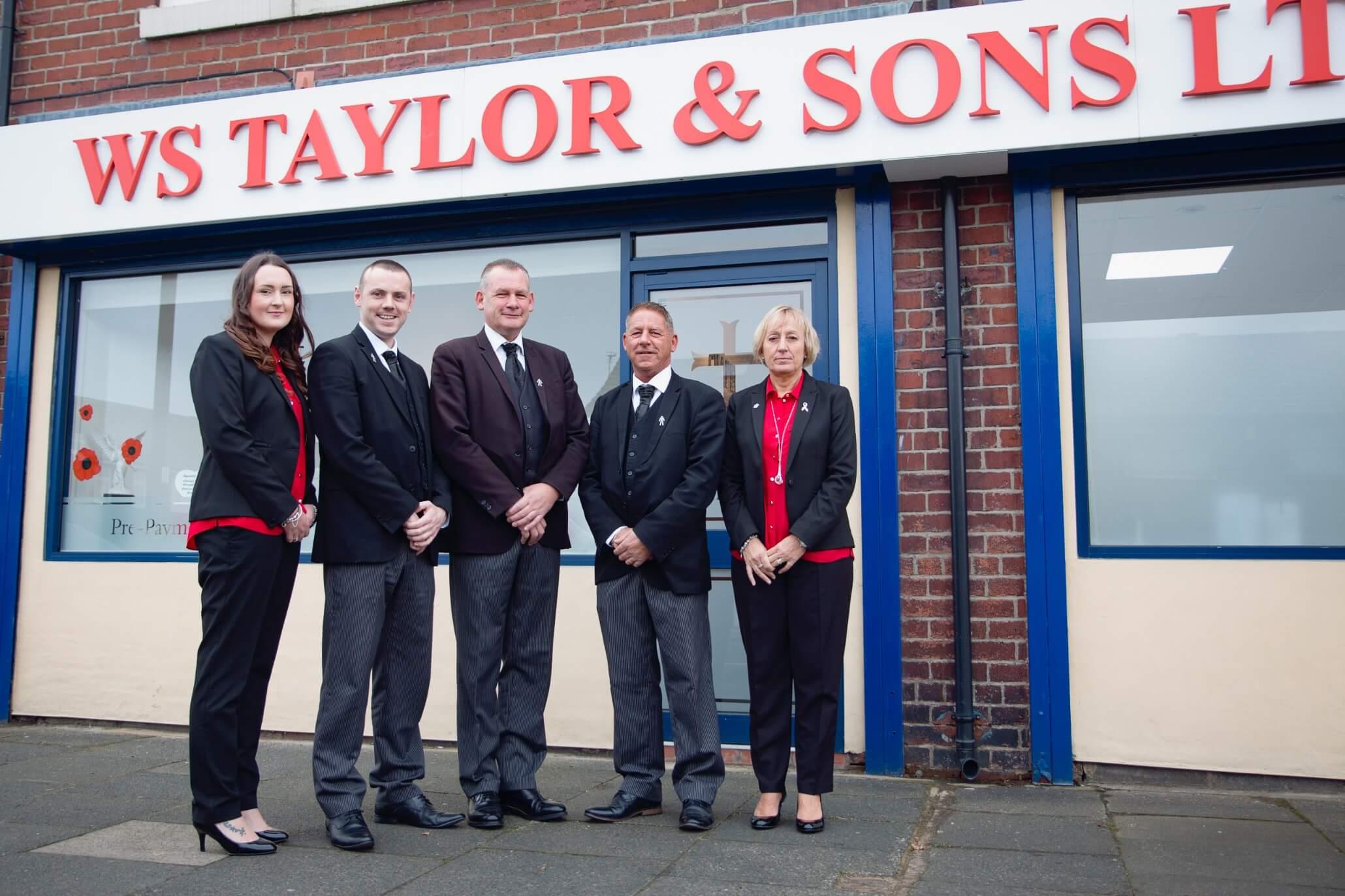 WSTaylor Funeral directors - groupRJM13